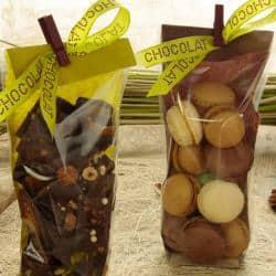 SAC POLYPRO FOND CARTON JUTE CHOCOLAT 100X220/100