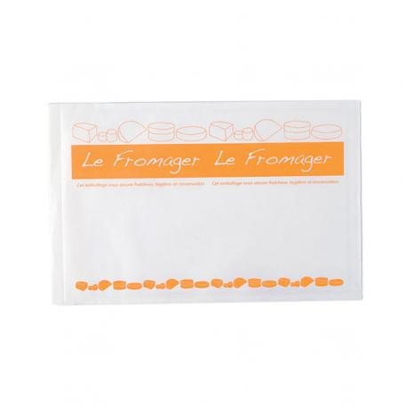 POCHETTE FERMETURE ADHESIVE 250X330MM FROMAGE FS