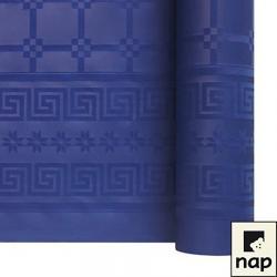 NAPPE DAMASSEE 1.20MX6M BLEU MARINE