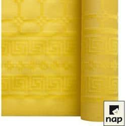 NAPPE DAMASSEE 1.20MX6M CITRON