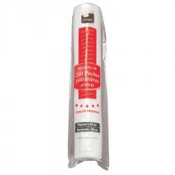 POCHE PATISSIERE JETABLE 26X48CM /200 pour produits chauds