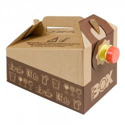 BAG IN BOX DISTRIBUTEUR BOISSON CARTON 3L