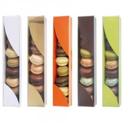 PLUMIER 10 MACARONS ANIS A PLAT